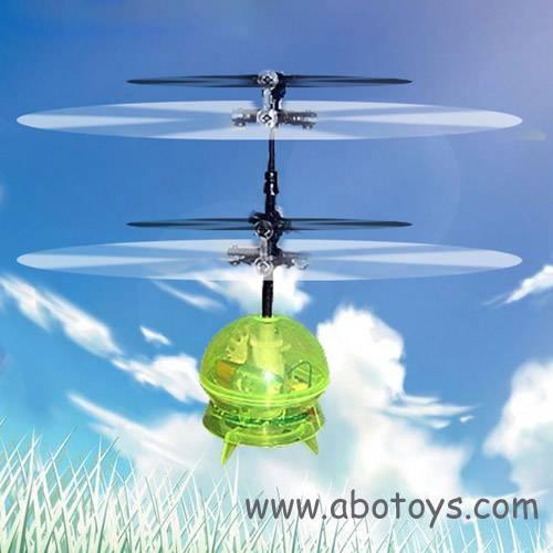 RH-0707 1Ch Mini R/C UFO Helicopter