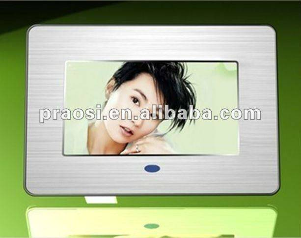 mp3 mp4 video digital photo frame of 7 inch