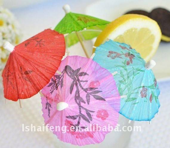 cocktail umbrella/parasol toothpicks