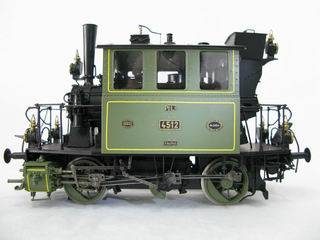 Electric train toy - G scale , brass model