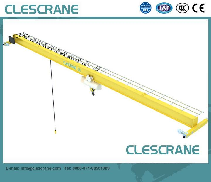 LDH Series 1t -16t Single Girder Overhead Crane with Low-Headroom Hoist $1100-$8500