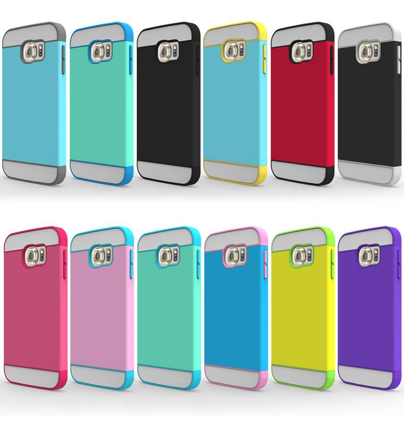 Samsung S6/S6 Edge Contrast Color Phone Case