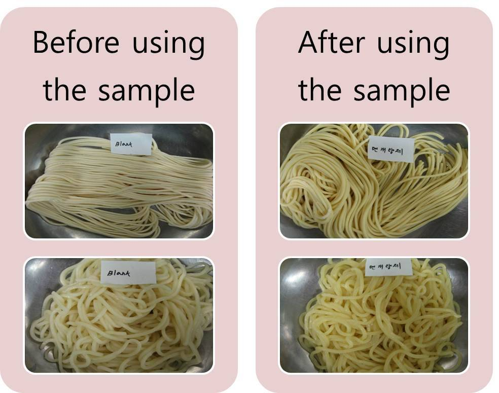 Alkali Additives for Noodles