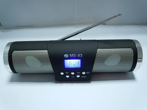 Orignal portable speaker box with FM mode MS-93
