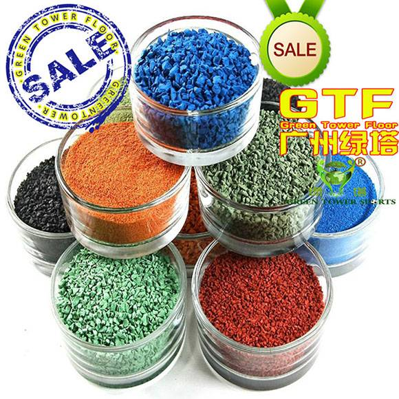 Colorful Recyclable EPDM Rubber Granules