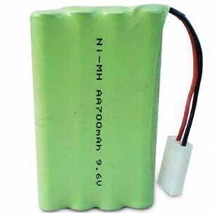 NI-HM 9.6V 700mAh AA Household Appliance Rechargeable Battery
