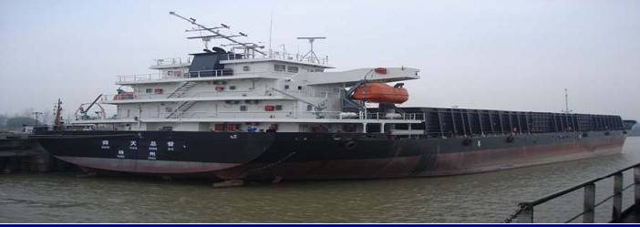 6 newly built 10500t deck barges for sale