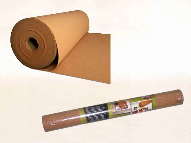 cork underlayment in rolls