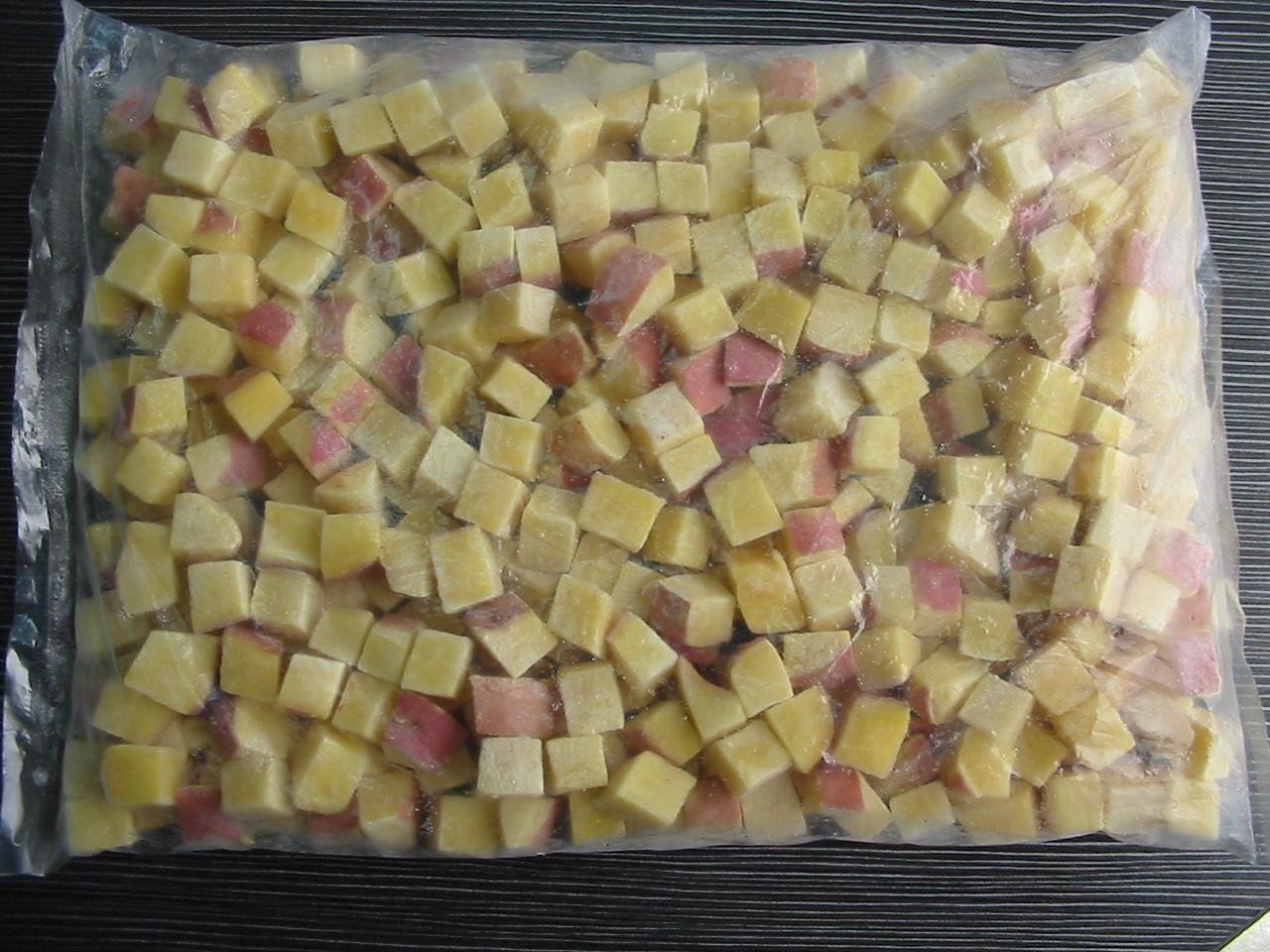 IQF sweet potato cube