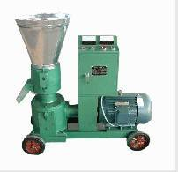 Pellet mill engined with electric motor