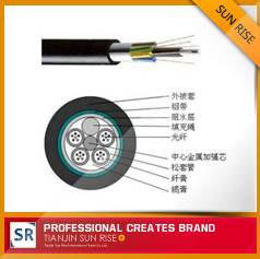 Stranded loose tube cable with aluminum tape(GYTA)