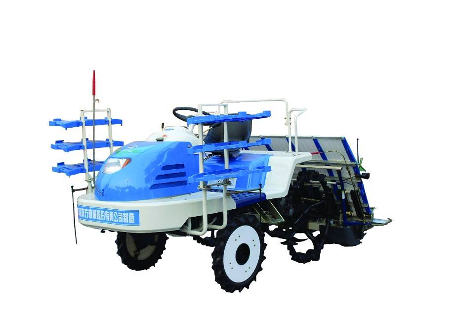 High speed rice planting machine