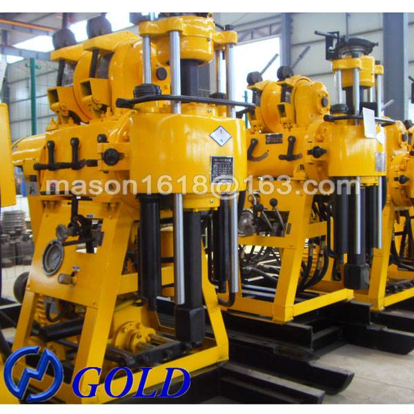 High Quality Portable Hydraulic HZ-200YY Water Well Drilling Rig