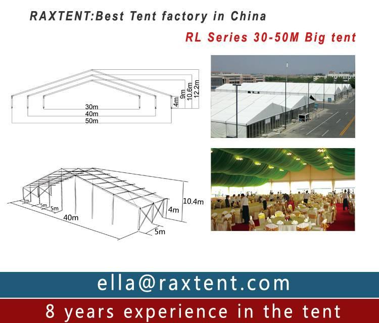 selling30m,40m,50m width huge exhibibion tent