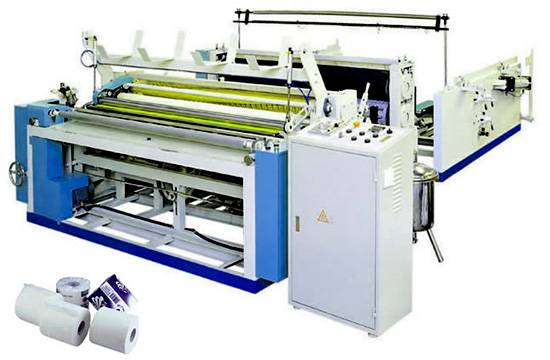 Half-automatic Toilet Roll Paper Making Machine
