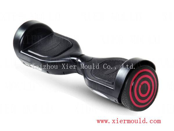 Plastic injection mould for electrical self-balance scooter