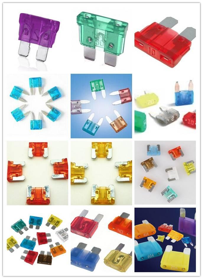 mini auto fuse/middle auto fuses/maxi auto fuse