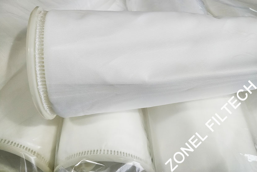 polyester micron rated liquid filter cloth and filter bags