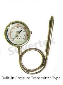 Built-in pressure transducer type melt pressure gauge