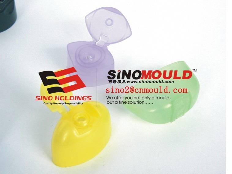 flip top cap molds