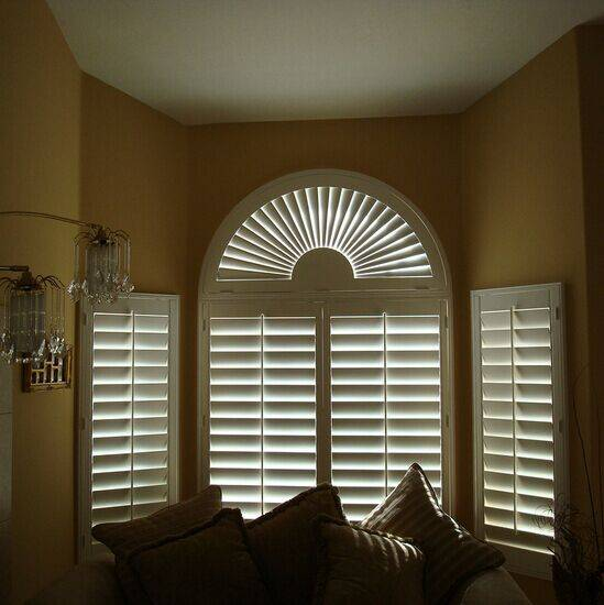 Australia white basswood plantation shutter or timber louver shutter high quality
