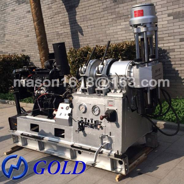 China High Efficiency XY-3T Drilling Rig Machine For Sale