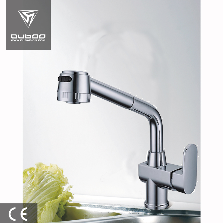 Single Lever Kitchen Faucet Mixer Faucets Solid Two Functions Faucets
