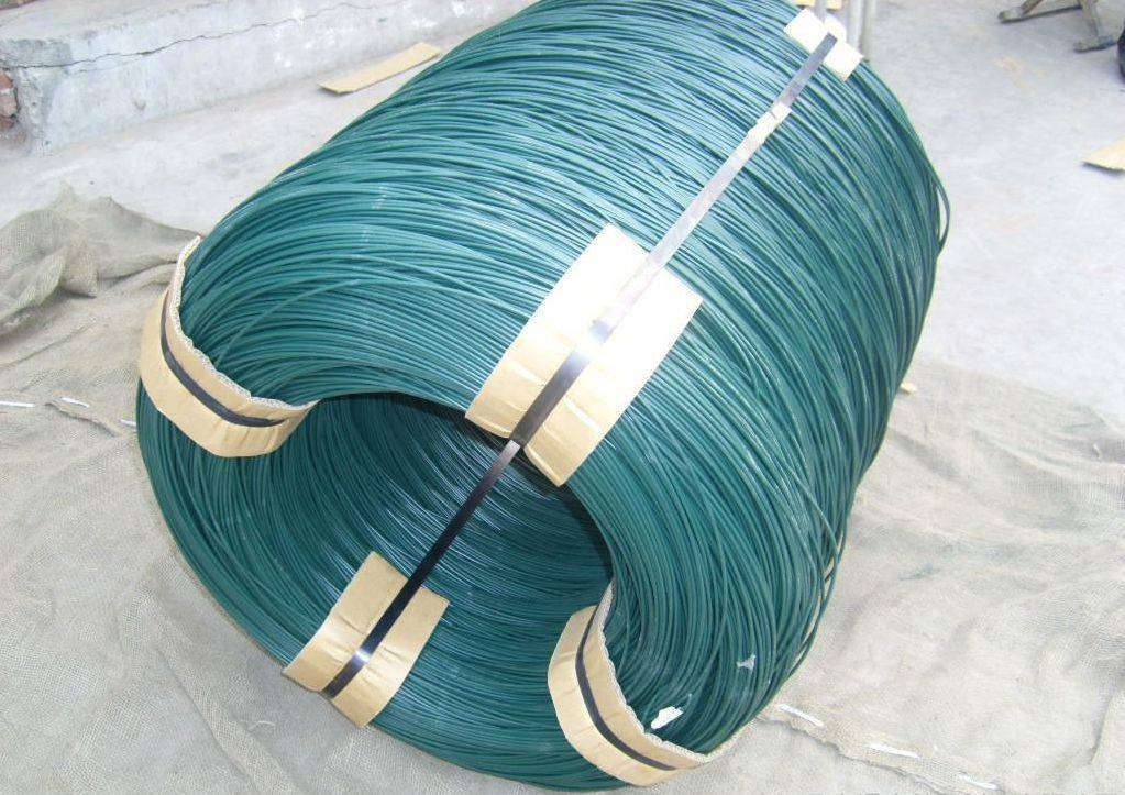 Anping Manufacturer High Quallity PVC Coated Wire