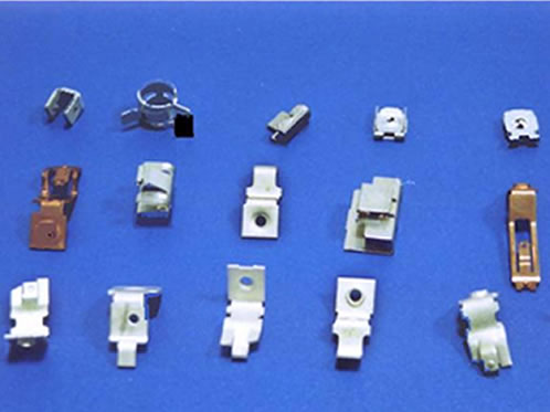 Precision Stamped Metal Electronic Components