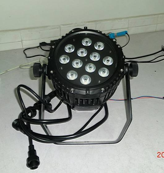 10W waterproof RGBW 4in1 outdoor light,outdoor RGBA IP65 led pro par for garden,led wall washer