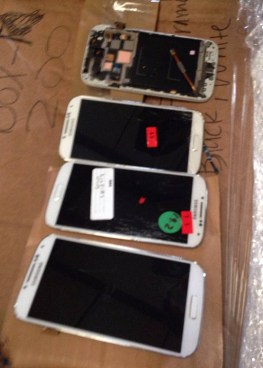 USED SAMSUNG S3 S4 S5 LCD's tested good lcd