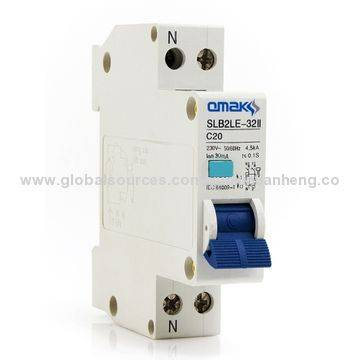 SLB2LE-32II Series Residual Current Circuit Breaker with Overload