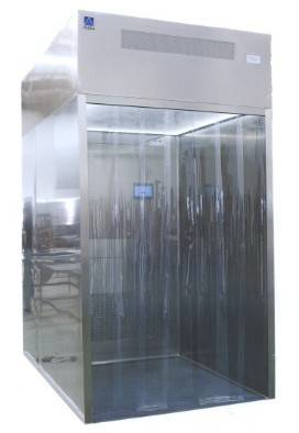 Negative Pressure Weighting Booth