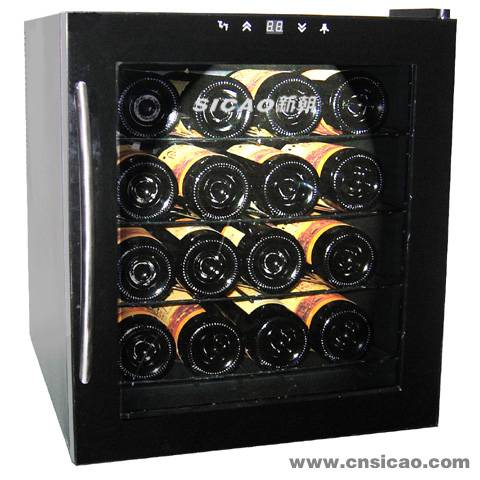 Semicondutor Wine Cooler,wooden rack wine cellar