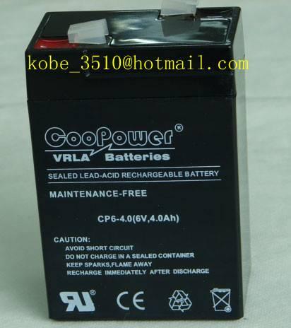 6V4ah VRLA battery
