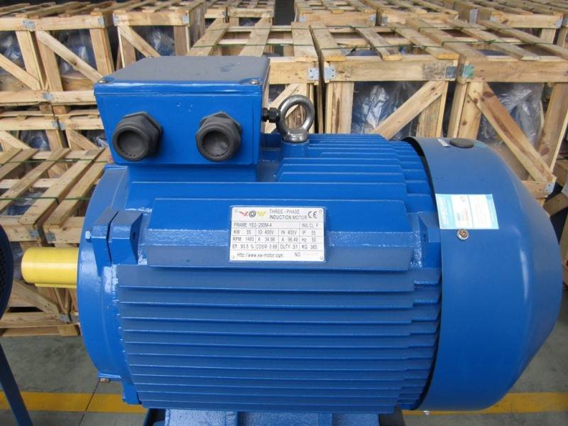 YE2 (IE2) High Efficiency Three Phase Induction Motor from 0.75KW to 90KW