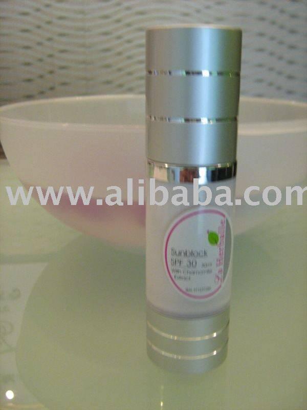 Sunblock SPF30- dry/normal skin----whitening skin for day care