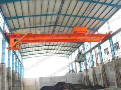Grab/Hook Dual Purpose Overhead Crane