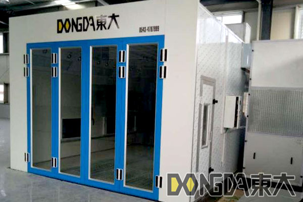 Paint booth from CHINA DD-7000