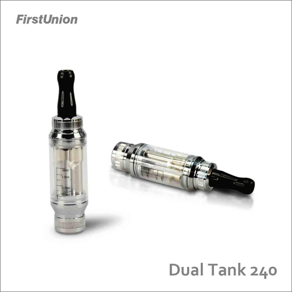 FirstUnion E-Cigarette Cartomizer Dual Tank 240