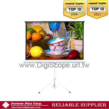 TRIPOD projection standing portable SCREEN
