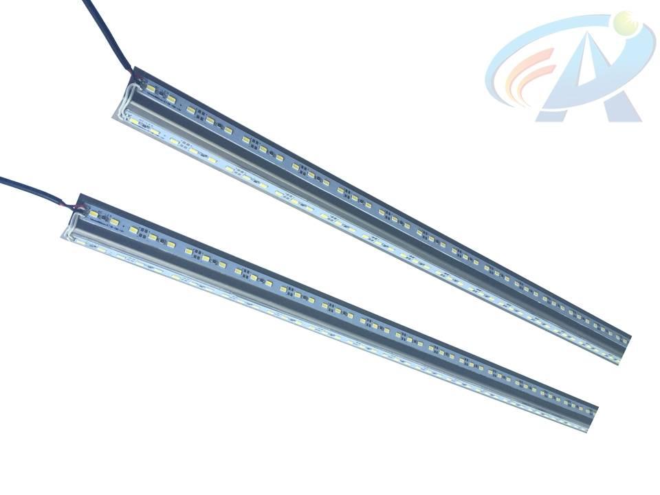 DC12V 46W SMD5630 V-Type Aluminum LED Bar Light Strip