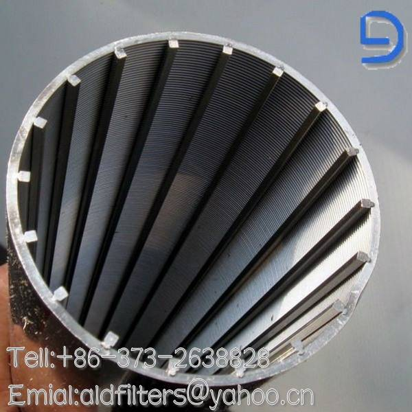wedge wire wrapped strainer filter