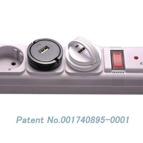 1A EU plug USB wall travel charger