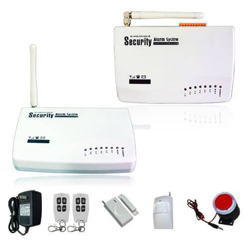 Wireless GSM Intruder Alarm System-10A