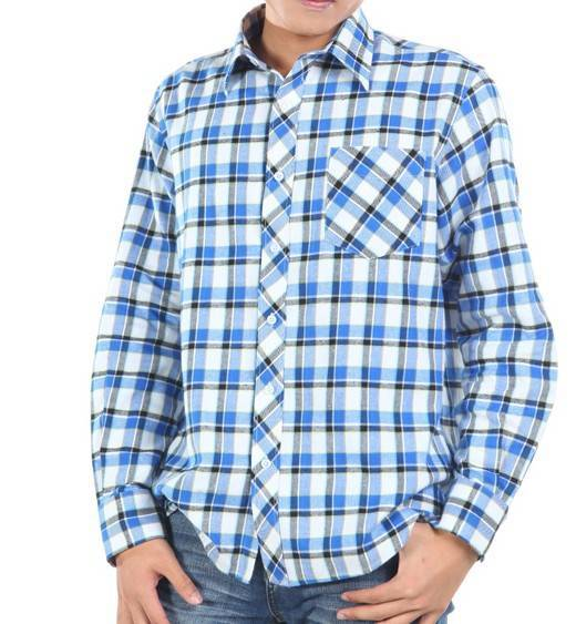 Mens flannel casual check shirts