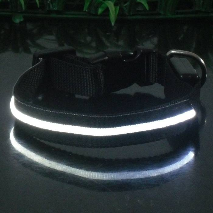 New Super bright Single-line LED flashing Dog collar