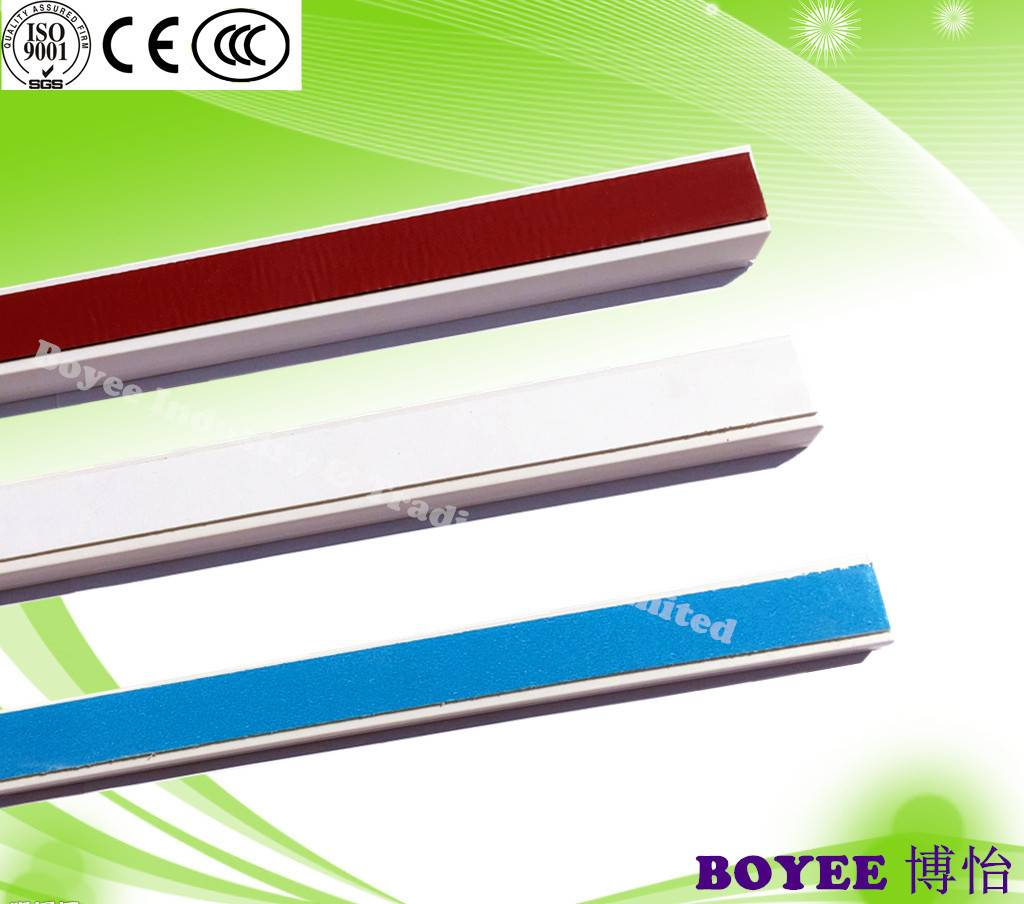 pvc trunking with Adhesive/ pvc trunking with sticker for South American Market