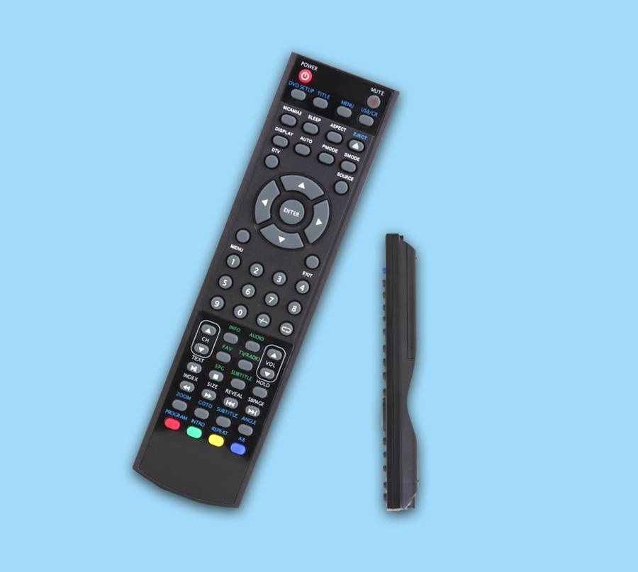 59keys infrared DVD/VCD/Stereo remote control