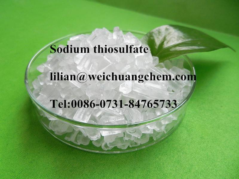 Industrial and photo grade sodium thiosulphate